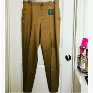 L.L. Bean Classic Fit Chinos Wrinkle Resistant